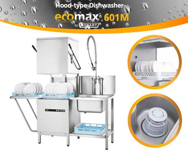 StremWash เครื่อง ล้าง จาน ร้าน อาหาร อัตโนมัติ