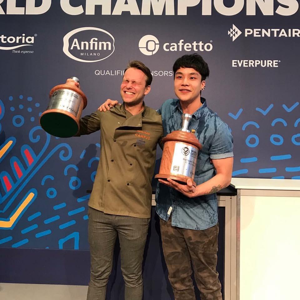 World Latte Art Champion